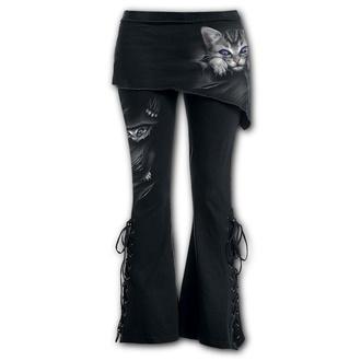 Women's trousers (leggings with skirt) SPIRAL - BRIGHT EYES - F011G459