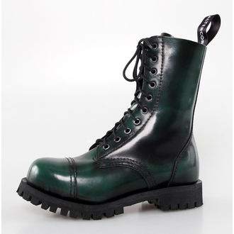 leather boots women's - Green Rub-Off - ALTERCORE, ALTERCORE