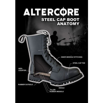 leather boots women's - ALTERCORE - 551