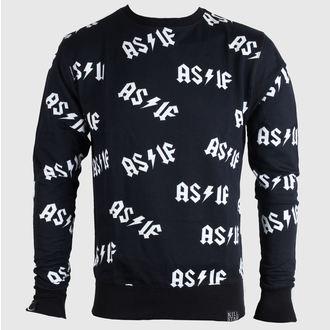 sweatshirt (no hood) women's unisex - As If - KILLSTAR - Black