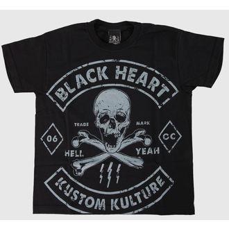 t-shirt street children's - Bones - BLACK HEART - Bones, BLACK HEART