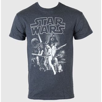 film t-shirt men's Star Wars - A New Hope One Sheet - LIVE NATION - PE11684TSCP