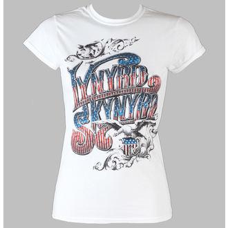 t-shirt metal women's Lynyrd Skynyrd - Usa Flag Logo - LIVE NATION - PELS01180
