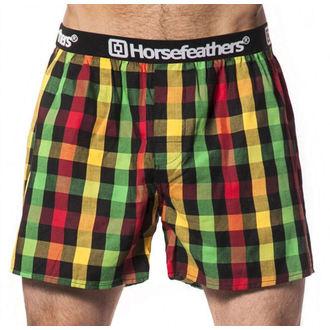 boxer shorts men Horsefeathers - APOLLO - Rasta, HORSEFEATHERS