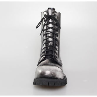 boots 10 eyelet ALTER CORE - White Rub-Off - 551