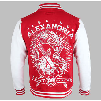 hoodie men's Asking Alexandria - Snake (Varsity) - PLASTIC HEAD, PLASTIC HEAD, Asking Alexandria
