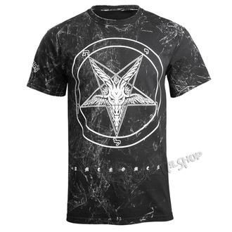 t-shirt hardcore men's - GOAT - AMENOMEN - OMEN001KM ALLPRINT WHITE