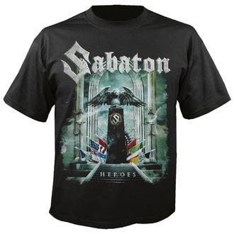 t-shirt metal men's Sabaton - Heroes - NUCLEAR BLAST - 2289_TS