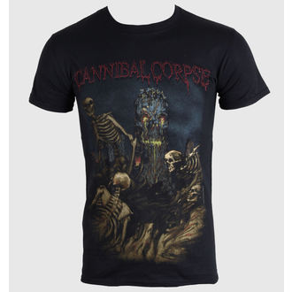 t-shirt metal men's Cannibal Corpse - A Skeletal Domain 4 - PLASTIC HEAD, PLASTIC HEAD, Cannibal Corpse
