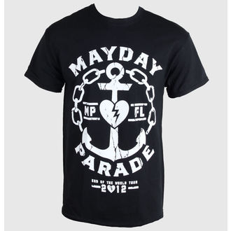 t-shirt metal men's Mayday Parade - Anchor - PLASTIC HEAD, PLASTIC HEAD, Mayday Parade