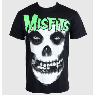 t-shirt metal men's Misfits - Glow Jurek Skull - PLASTIC HEAD - PH8266