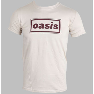 t-shirt metal men's Oasis - Classic Logo (Brown) - PLASTIC HEAD, PLASTIC HEAD, Oasis