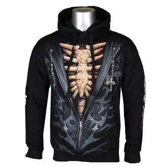hoodie men's - UNZIPPED - SPIRAL - T098M451