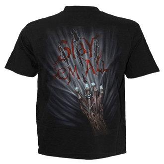 t-shirt men's - ZOMBIE KILLER - SPIRAL - TR378600