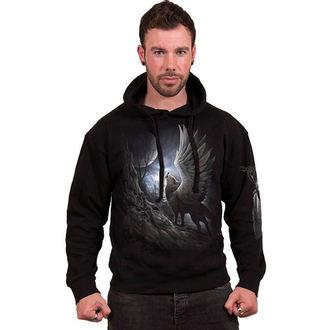 hoodie men's - LYCOS WINGS - SPIRAL - T104M451