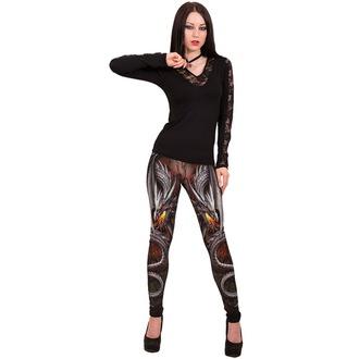 leggings women SPIRAL - OBSIDIAN - WM125430