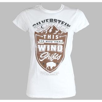 t-shirt metal women's Silverstein - Crestl - PLASTIC HEAD - PH8368G