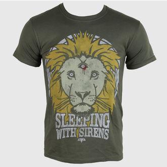 t-shirt metal men's Sleeping With Sirens - Lion Crest - PLASTIC HEAD, PLASTIC HEAD, Sleeping With Sirens