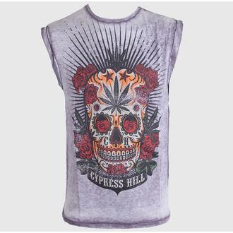 t-shirt men Cypress Hill - Men Burn Out - Amplified - Dark Grey, AMPLIFIED, Cypress Hill