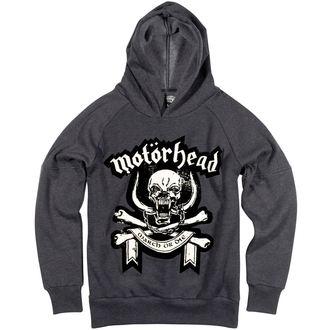 hoodie men's Motörhead - Marl - AMPLIFIED, AMPLIFIED, Motörhead