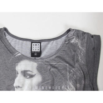t-shirt metal women's Amy Winehouse - Club 27 Fishtail - AMPLIFIED