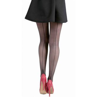 tights PAMELA MANN - Jive Seamed Tights - Black / Black - 092