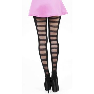 tights PAMELA MANN - Ladder Tights - Black - 082