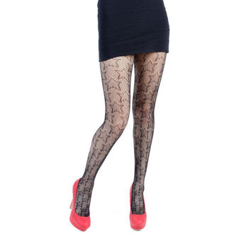tights PAMELA MANN - Star Net Tights - Black - 112