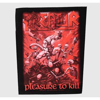 patch large Kreator - Pleasure To Kill - RAZAMATAZ, RAZAMATAZ, Kreator