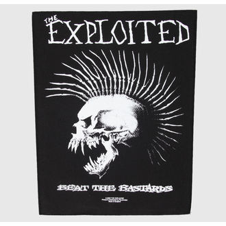 patch large The Exploited - Beat The Bastards - RAZAMATAZ - BP632