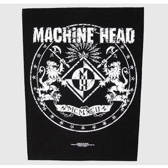 patch large Machine Head - Crest - RAZAMATAZ, RAZAMATAZ, Machine Head