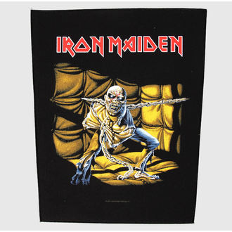 patch large Iron Maiden - Piece Of Mind - RAZAMATAZ, RAZAMATAZ, Iron Maiden
