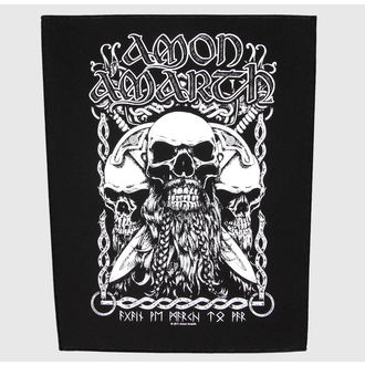 patch large Amon Amarth - Bearded Skull - RAZAMATAZ, RAZAMATAZ, Amon Amarth