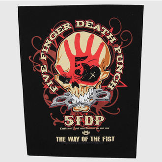 patch large Five Finger Death Punch - Way Of The Fist - RAZAMATAZ, RAZAMATAZ, Five Finger Death Punch