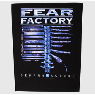 patch large Fear Factory - Demanufacture - RAZAMATAZ, RAZAMATAZ, Fear Factory