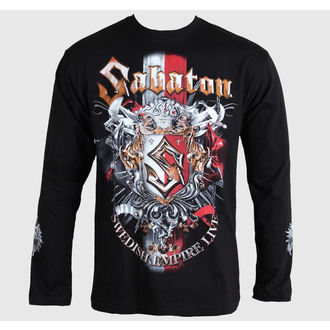 t-shirt metal men's Sabaton - Black - CARTON, CARTON, Sabaton