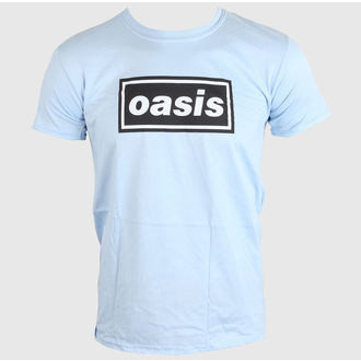 t-shirt metal men's Oasis - DEFINITELY MAYBE - LIVE NATION