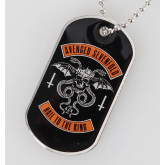 collar (dog tag) Avenged Sevenfold - Biker - RAZAMATAZ, RAZAMATAZ, Avenged Sevenfold