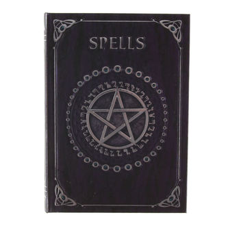 writing notepad Embossed Spell - Purple - B0146A3