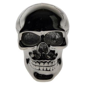 decoration -head gear lever- Silver Skull Gear - U0485B4