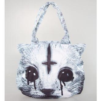 handbag (bag) POIZEN INDUSTRIES - Hell Cat - Black