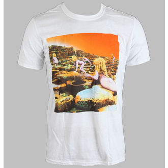 t-shirt metal men's Led Zeppelin - WHITE HOTH ALBUM COVER - LIVE NATION, LIVE NATION, Led Zeppelin
