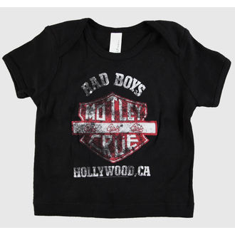 t-shirt metal children's Mötley Crüe - Bad Boys Shield Toddler - ROCK OFF, ROCK OFF, Mötley Crüe