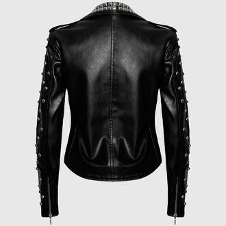 leather jacket women's - Vicious - KILLSTAR
