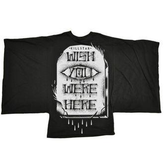 t-shirt women's - WYWH Kimono - KILLSTAR - Black