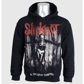hoodie men's Slipknot - 5 The Gray Chapter - BRAVADO EU, BRAVADO EU, Slipknot