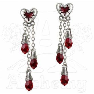 earrings ALCHEMY GOTHIC - Bleeding Heart - E272