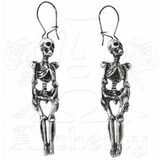 earrings ALCHEMY GOTHIC - Skeleton - E9