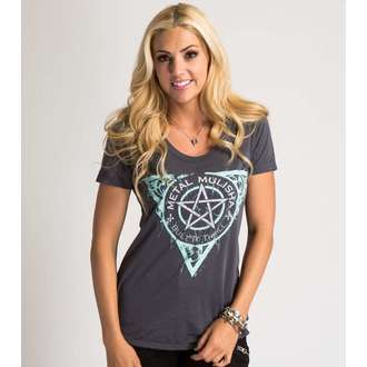 t-shirt street women's - THE FINEST - METAL MULISHA - M447S18414.01_CHA