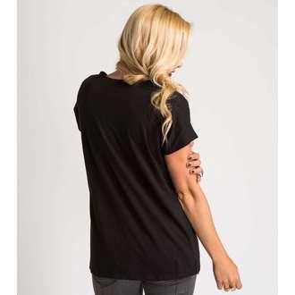 t-shirt street women's - TROPICS - METAL MULISHA - M44703403.01_BLK